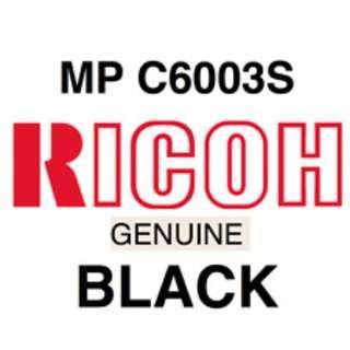 Ricoh Genuine Toner Cartridge MP C6003S Black