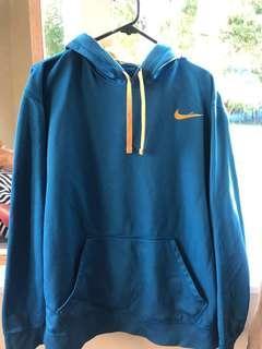 Blue Nike Hoodie (size L)