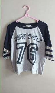 forever21 shirt baseball