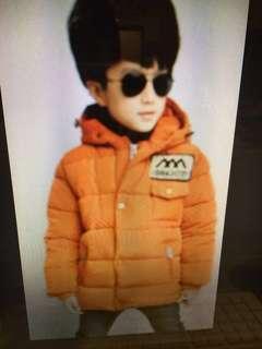 韓版兒童鋪棉外套