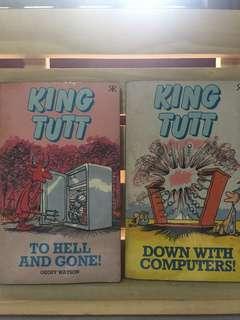 King Tutt comics by Geoff Watson (2 books)