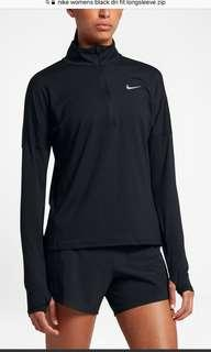 Women's nike dri fit long sleeve zip