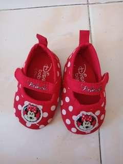 disney doll shoes mickey mouse 0-6mos