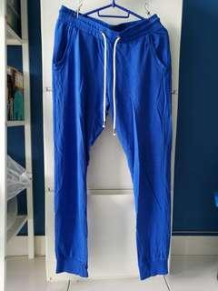 Terranova sweat pants in electric blue