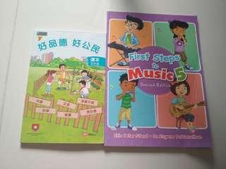 Primary 5 Music and Civics Moral Education Set
