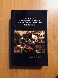 Twentieth Century Formulas, Recipes, Processes