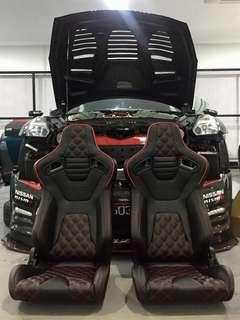 Braum Racing Sports Seats ONE PAIR
