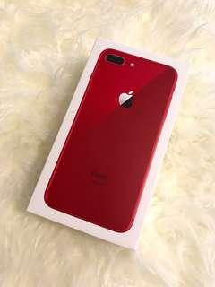 Brand New Unused Iphone 8 Plus 256gb Red Version
