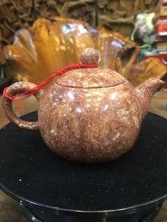 🚚 楓紅石手工壷可泡茶