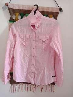 3/4 tops in pink