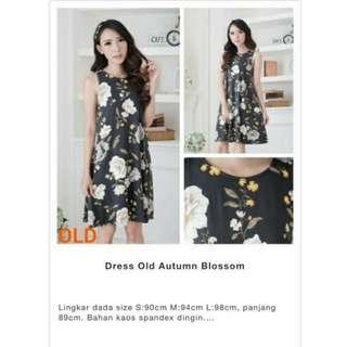 Dress Midi Old Navy Oldnavy Autumn Blossom S M