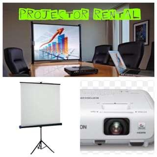 AFFORDABLE 'Projector And Screen' Rental