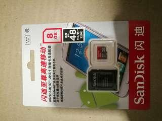 SanDisk 8Gb Micro SD card