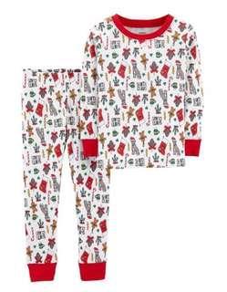 🚚 BNIP Carter's Christmas Pyjamas 5T
