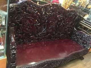 🚚 九龍椅老古董紅花梨十件組讓藏完整氣派