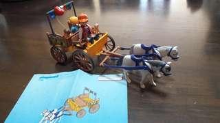 Children toys - playmobil 4186 Horse-drawn Carriage
