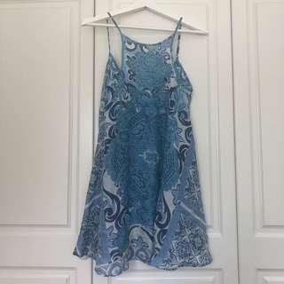 Shakuhachi Silk Dress