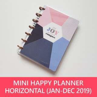 2019 Mini Happy Planner - Joy (horizontal)