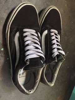 Vans oldskool full canvas black condition 80%