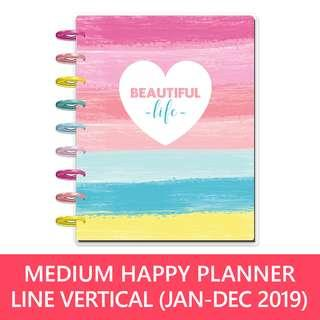 2019 Classic Happy Planner® - Beautiful Life (lined vertical)