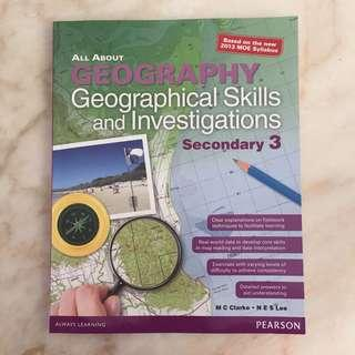 geographical skills and investigations book