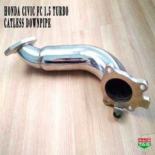 HONDA CIVIC FC 1.5 TURBO CATLESS DOWNPIPE