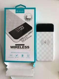 Wireless power bank (with shipping)
