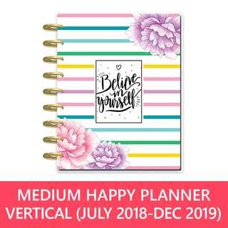 Classic Happy Planner® Believe in yourself - 18 month planner