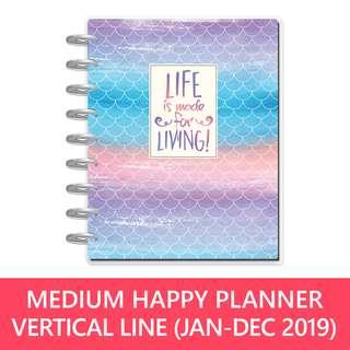 Classic Happy Planner - Mermaid (Lined Vertical)