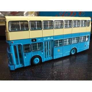 全新有盒有証書倒後鏡中華巴士中巴LV128利蘭勝利二型 Leyland Victory II 9號線石澳巴士模型