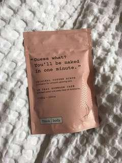 Unopened Frank Body Scrub