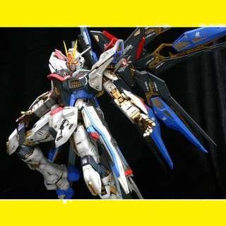 請看推廣優惠 Bandai Gundam 全新未砌 PG 1/60 Strike Freedom Gundam 突擊自由高達 Perfect Grade 高達模型
