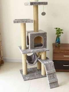 BNIB $49.90 + FREE DELIVERY 1.5m Cat condo apple iphone xr max xs huawei mate oppo r17 tempered pet fur kitten acana orijen royal canin litter tray pine crystal andriod scratching post house tree climber