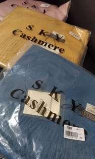 🚚 圍巾 Cashmere  黃色