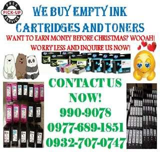 We offer a higher price to your empty ink