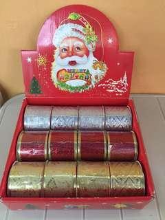 Christmas Rolls ribbons