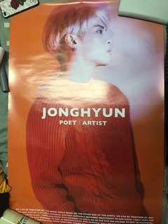 Poet| Artist Jonghyun Poster