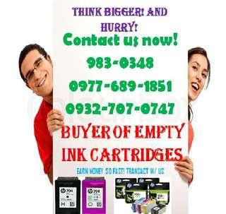 Buyer of Hp Canon and toner cartridges