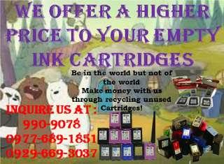 No 1 trusted company buyer of empty ink cartridges and toners