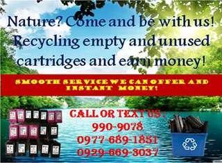 Buyer of empty ink cartridges