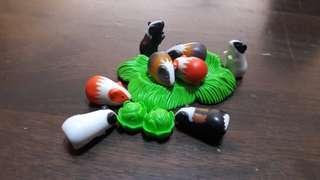 Playmobil Guinea Pigs set