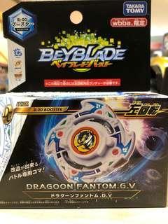 爆旋陀螺 Beyblade BA-00 wbba 限定 青龍 DRAGOON FANTOM