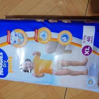 Huggies Baby Dry Pants XL 40pcs