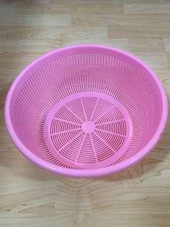 Closing Down Sales {Kitchen Accessories - Plastic Tray} Used Plastic Pink Colour Tray For Sales