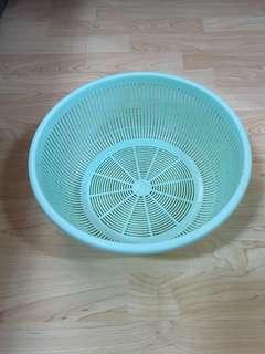 Closing Down Sales {Kitchen Accessories - Plastic Tray} Used Plastic Green Colour Tray For Sales