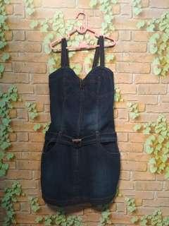 overall jeans anak 10-12 T