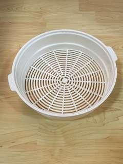 Closing Down Sales {Kitchen Accessories - Plastic Tray} Used Plastic Beige Colour Tray For Sales