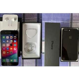 WTS iPhone 7plus 128GB Jet-Black (Complete Set)