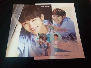 [Jaehwan/Jisung] Wanna one summer package official member set