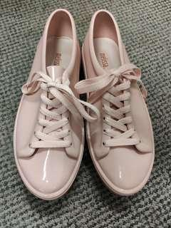Melissa 粉紅色 lace up shoes